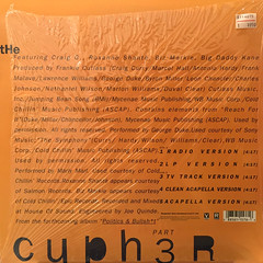 FRANKIE CUTLASS:THE CYPHER PT.3(JACKET B)