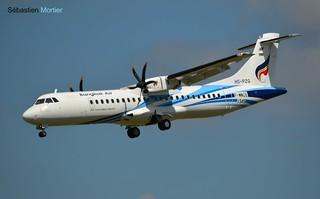 ATR.72-600 BANGKOK AIR F-WWEE 1345 TO HS-PZG 26 07 16 TLS