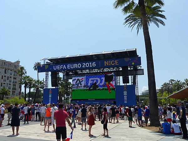 l'euro à Nice