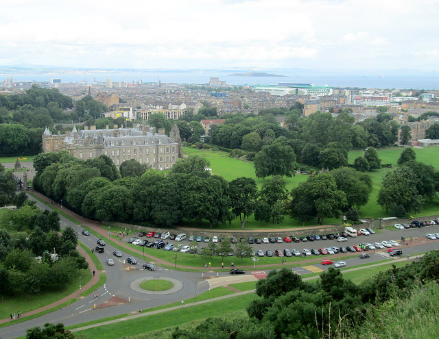 View from Salisbury  Crags 16 Holyrood Pal