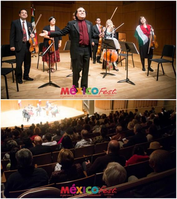 Concierto de Música Mexicana en el México Fest 2016