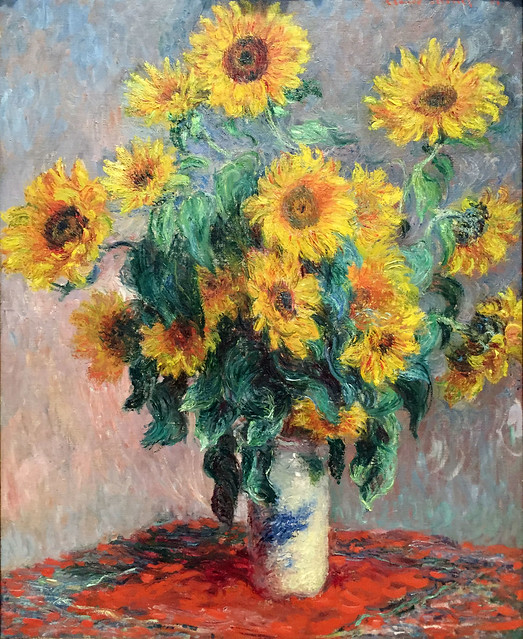 Sunflowers, Monet