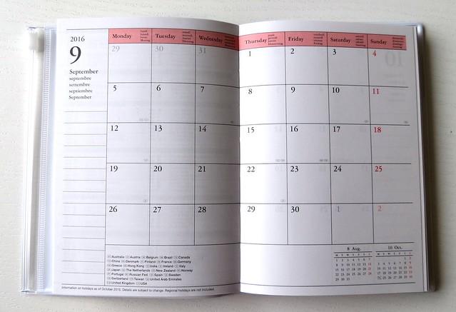 Make time planner maandoverzicht