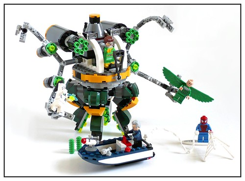 LEGO Marvel Super Heroes 76059 Spider-Man Doc Ock's Tentacle Trap 35