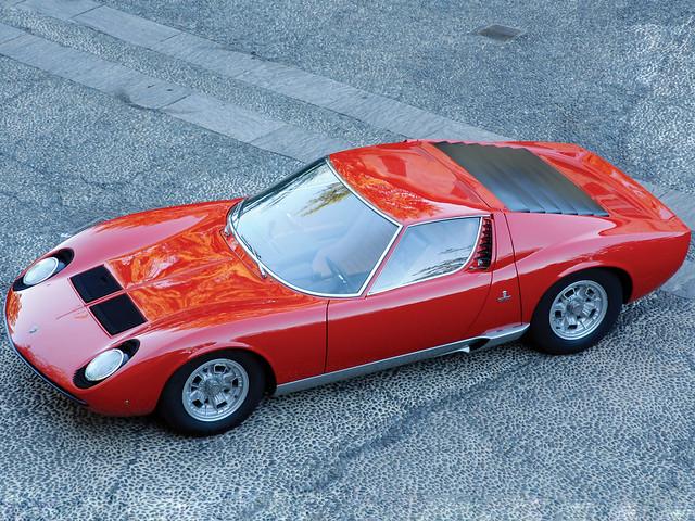 Lamborghini Miura P400. 1966 – 1969 годы