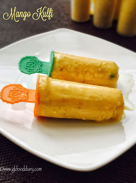 Mango Kulfi Recipe for Toddlers and Kids4