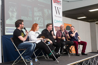 Fear Factor Panel with Dawn Kurtagich, Derek Landy, Darren Shan and Alex Scarrow