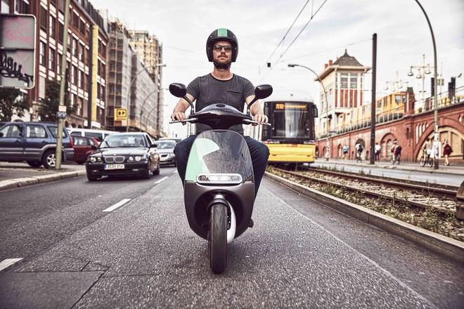 Gogoro特製COUP智慧雙輪 提供柏林居民智慧雙輪租林服務