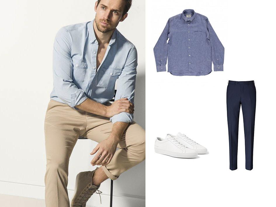 Camisa azul 03