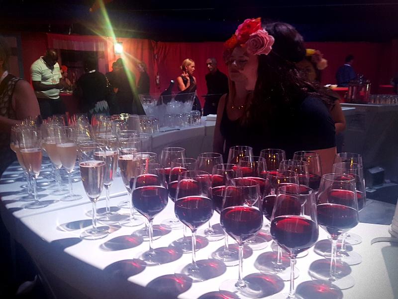 Cirque du Soleil Luzia drinks