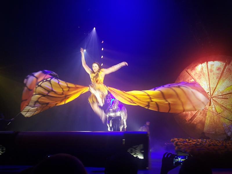 Cirque du Soleil Luzia opening