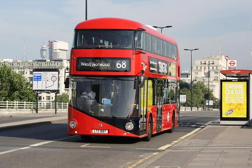 London Central LT687 LTZ1687