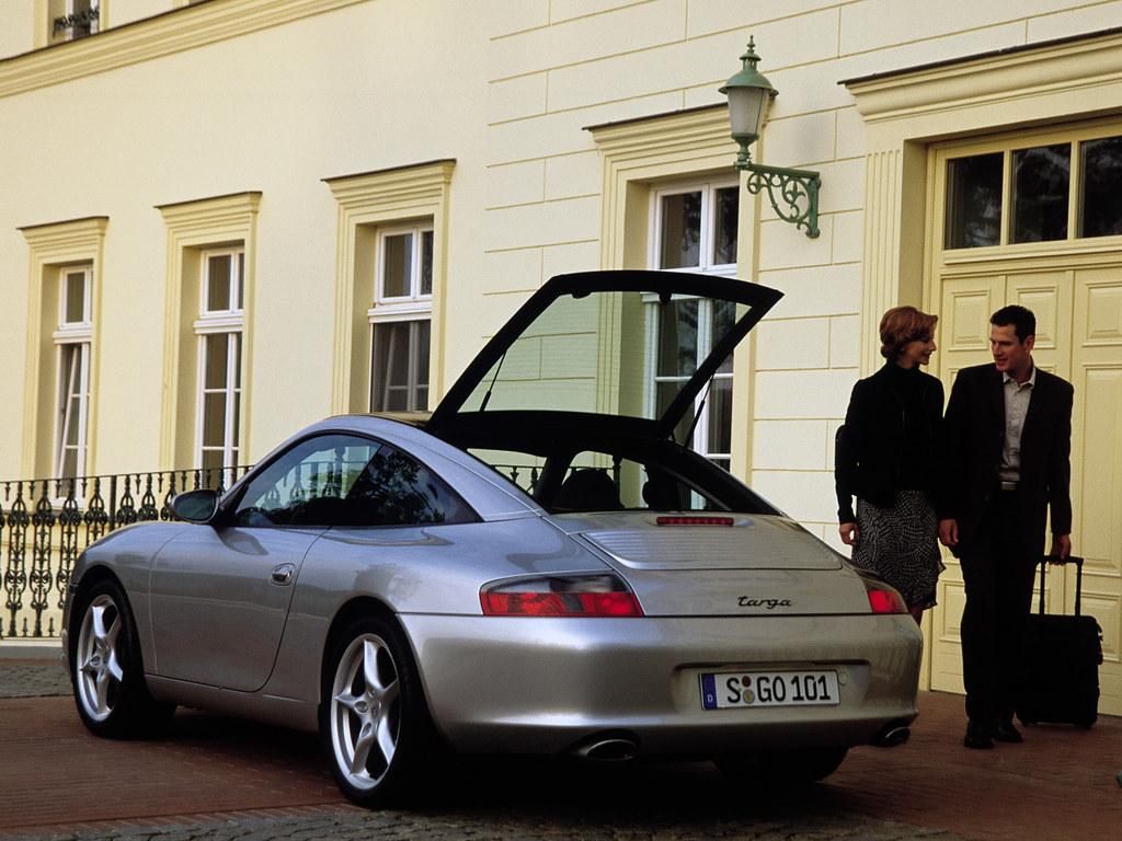 Porsche 911 Targa (кузов 996). 2001 – 2005 годы