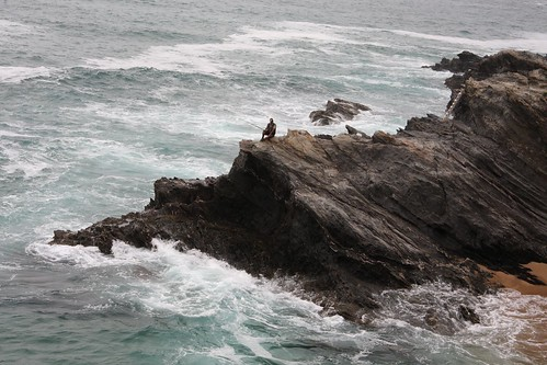 De pesca, en Porto Covo