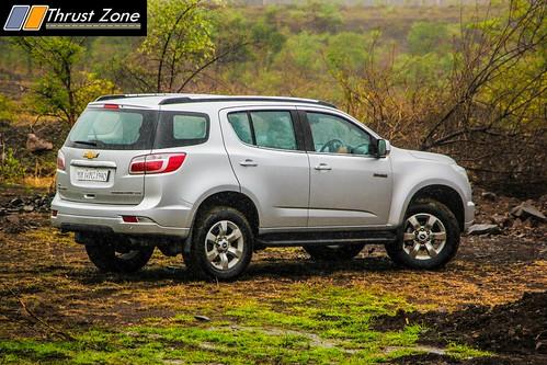 2016 Chevrolet Trailblazer India Review Road Test
