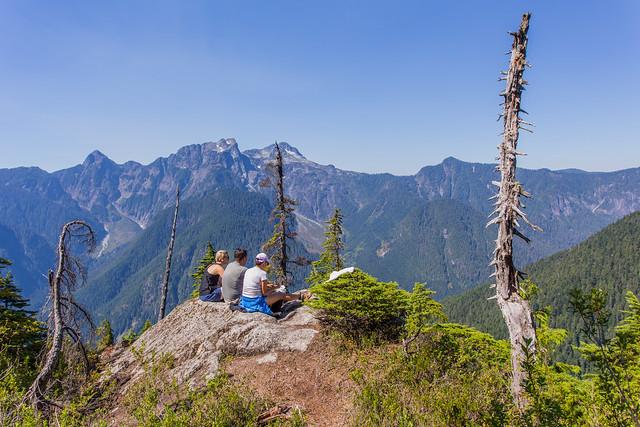 Group at viewpoint