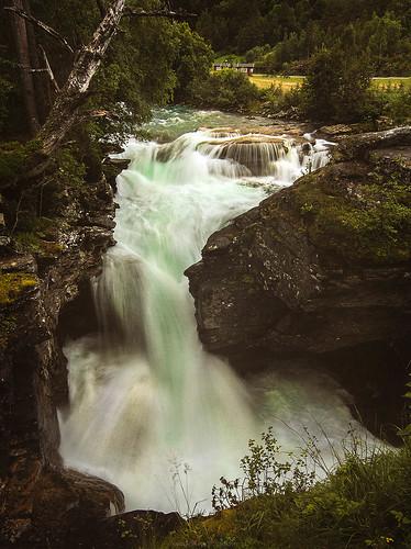 Waterfall, Gudbrandsjuvet