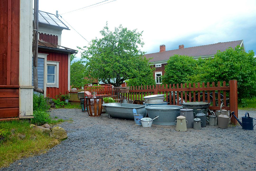 Vintage zink at Lundagård