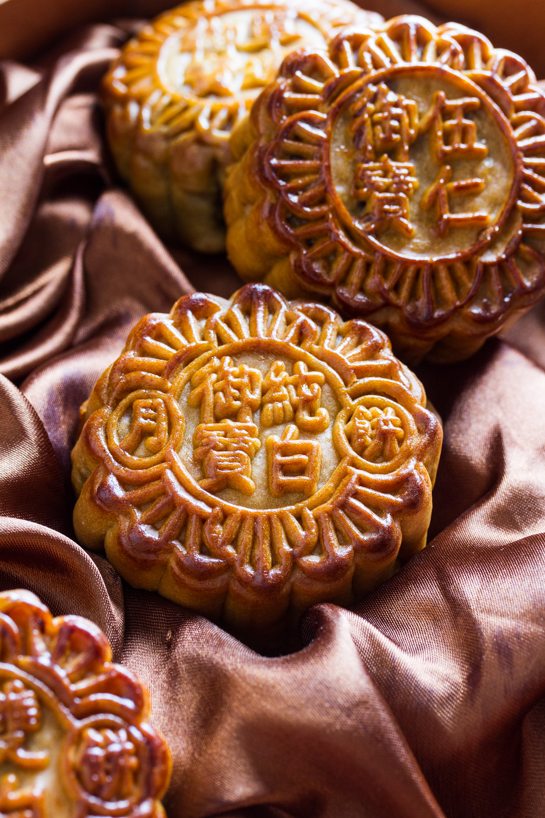 Imperial Treasure mooncake: assorted baked mooncakes