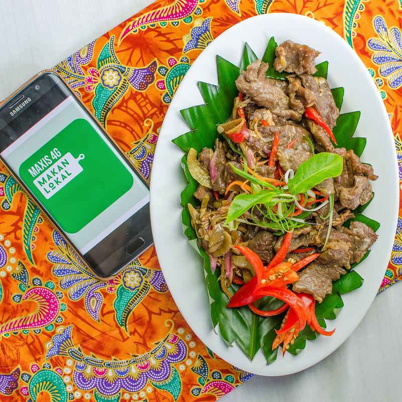 Ranau Sabah Tea Garden Tuhau Beef