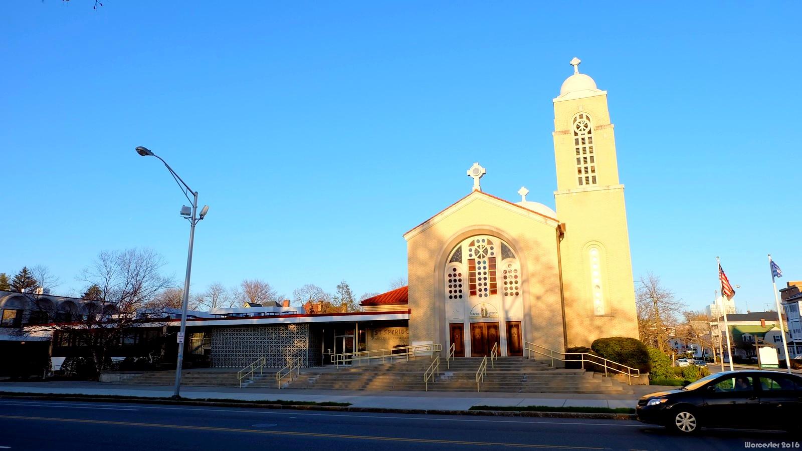 St. Spyridon Greek Orthodox Church, Worcester, MA, USA