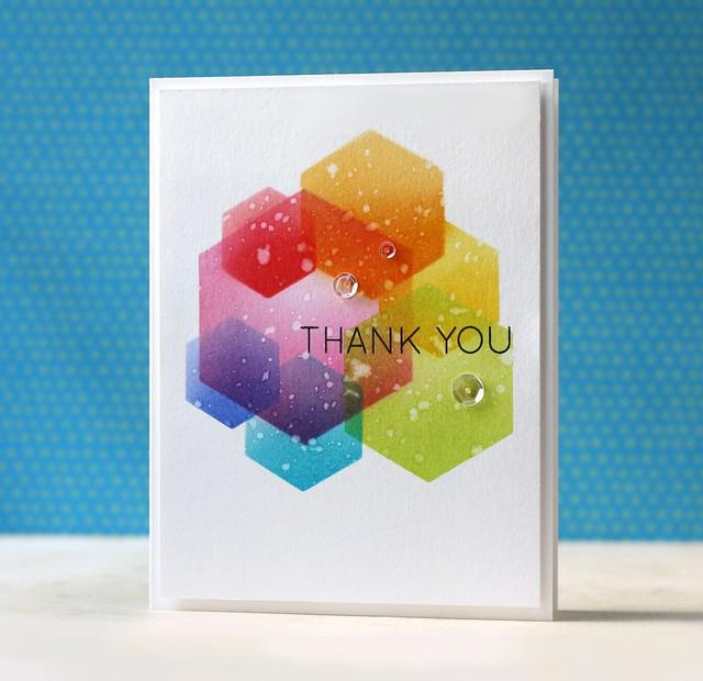SSS-Many Thanks, Hexagon dies