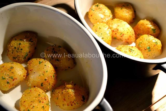 Noix de St Jacques  Gratinées Parfumées au Curry © Ana Luthi Tous droits réservés 07