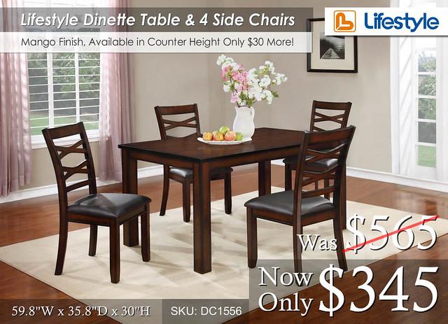 Lifestyle Dinette DC1556