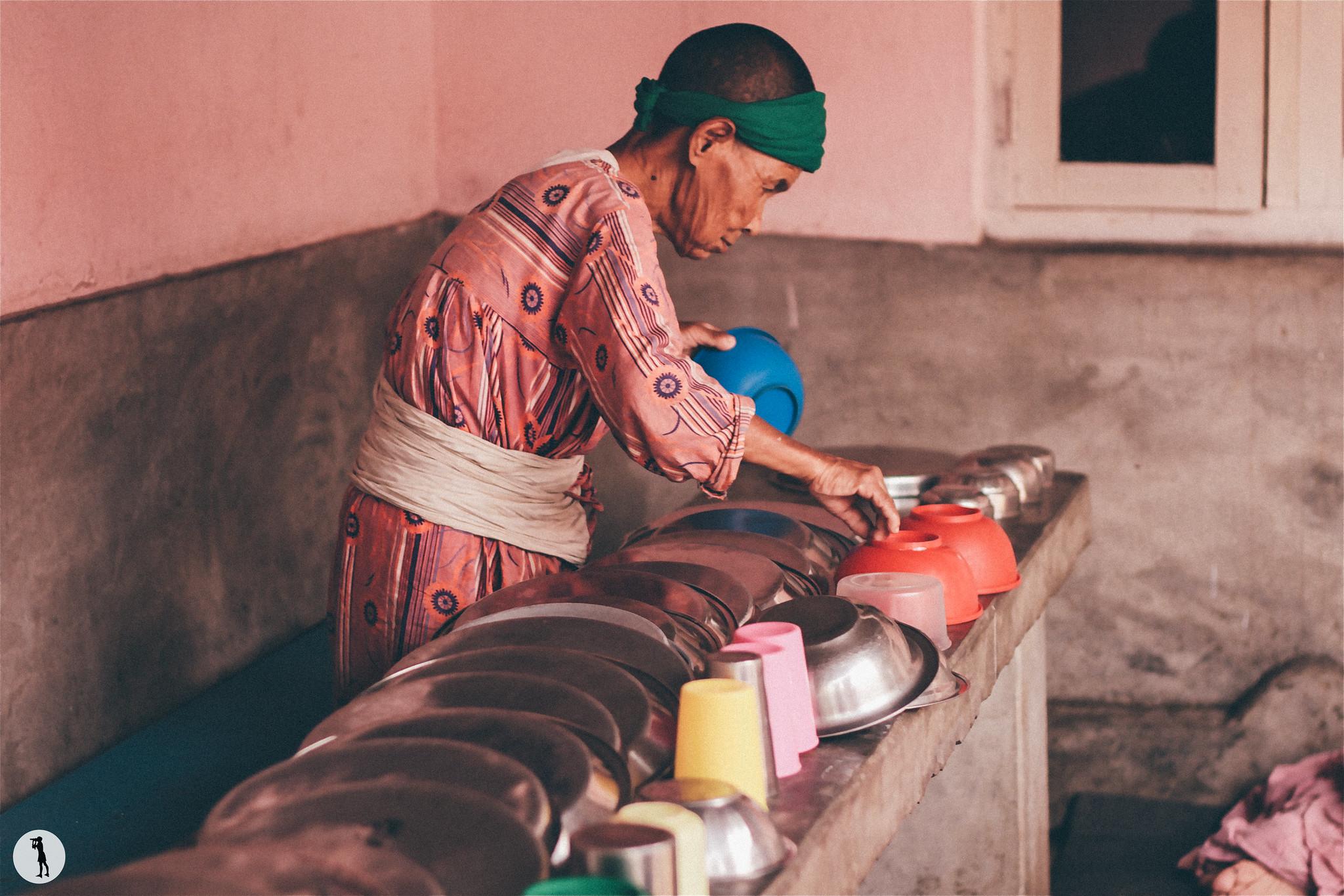 Elderly's home, Nepal.