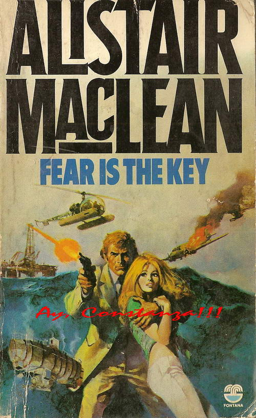 Fear is the Key - Book Cover 1