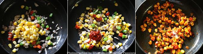 Sweet Corn Mayo Sandwich Recipe - Step2