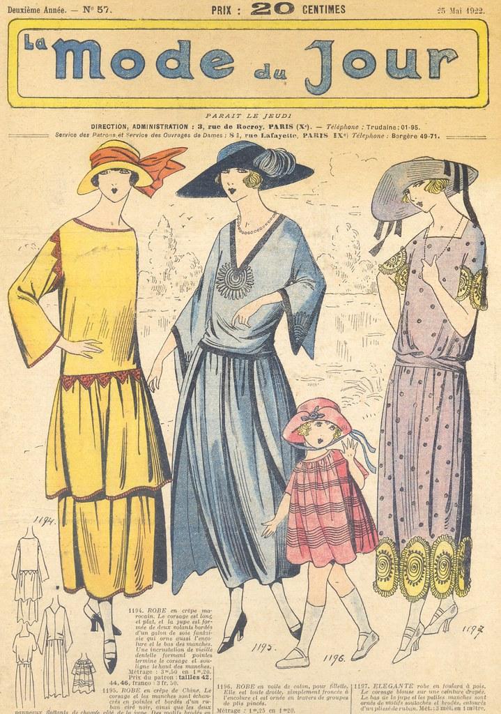La Mode du Jour, 1922