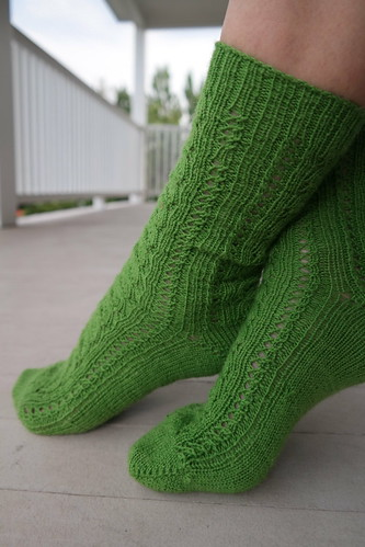 Feather Lace Socks 3