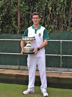 Men's county singles winner 2016