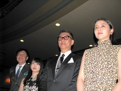 Good Morning Show : Dir./Scr. Ryoichi Kimizuka, actress Mirai Shida, actor Kiichi Nakai and actress Masami Nagasawa