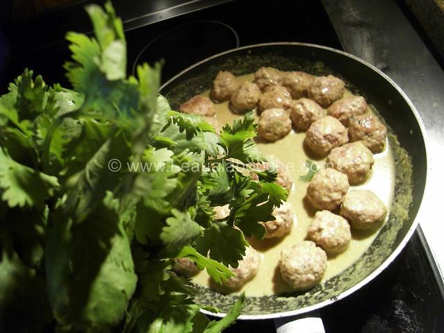 Boulette de Porc au Sésame au Curry Vert © Ana Luthi  Tous droits réservés 4