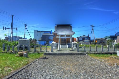 Misaki Shrine, Nosyappu, Wakkanai on JUL 16, 2016 (2)