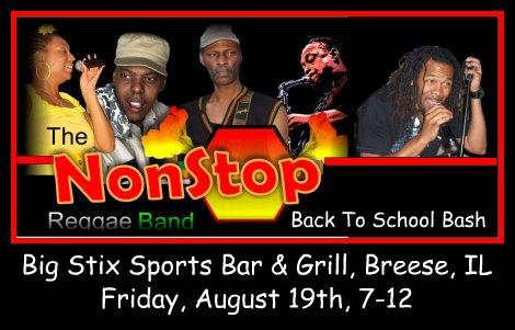 NonStop Reggae Band 8-19-16