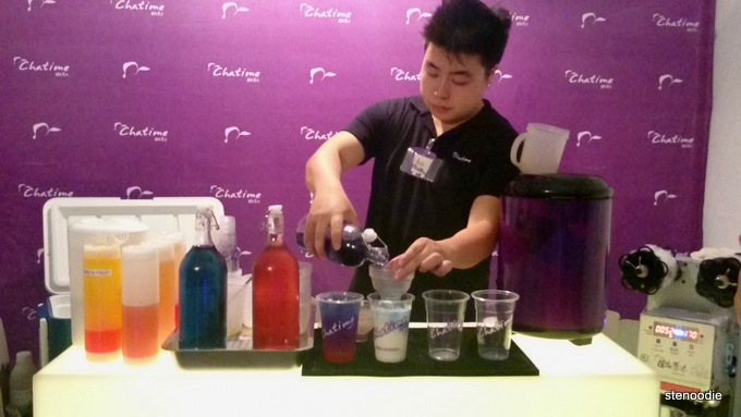 Twilight by Chatime demonstration
