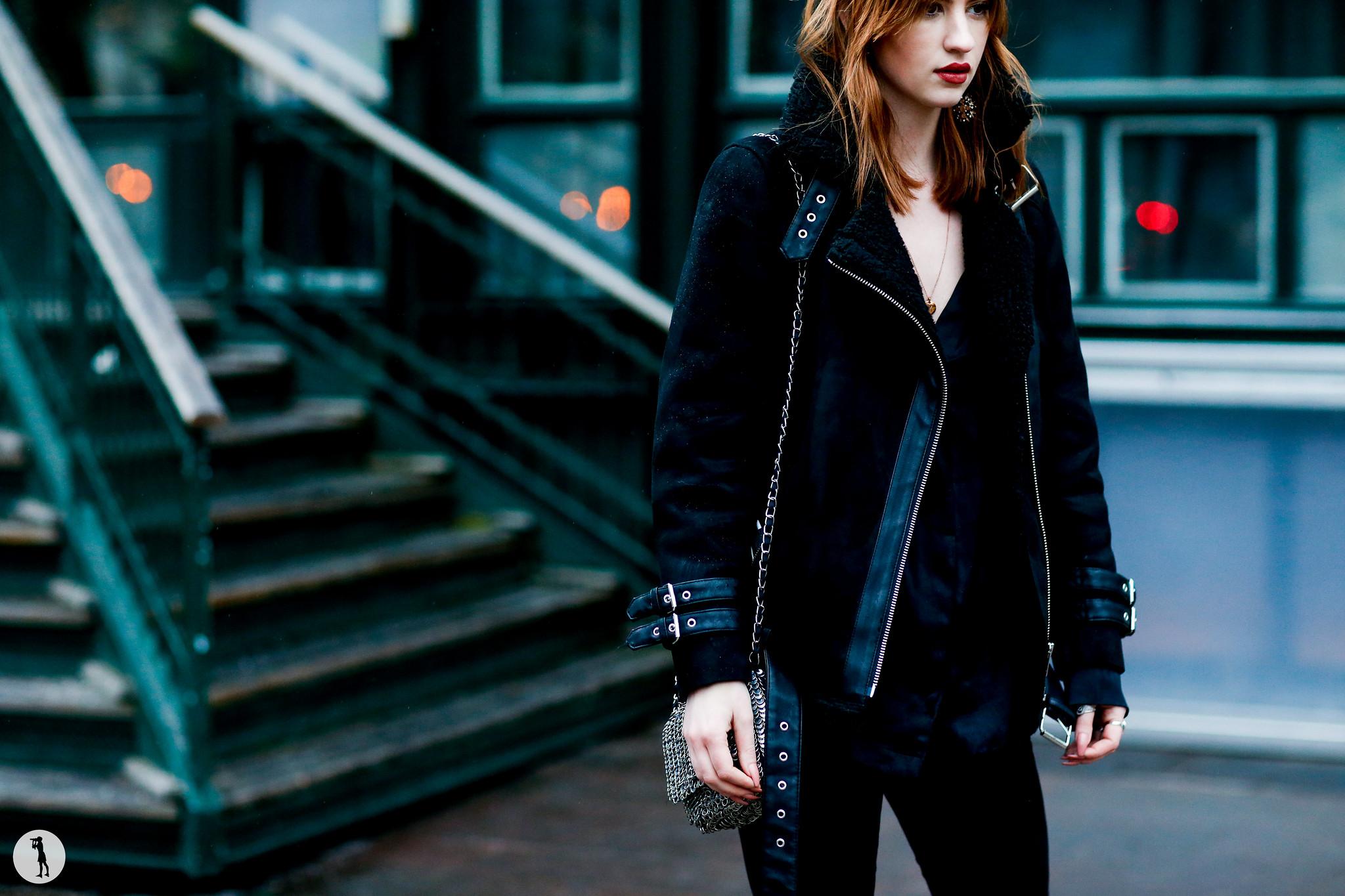 Model Viktoria Moller - Stockholm Fashion Week FW16-17 (1)