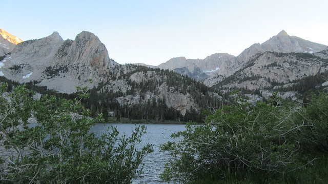 Backpacking to Horton Lakes