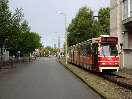 Den Haag, keerlus Laan van NOI - Excursie GTL8 (20161002)