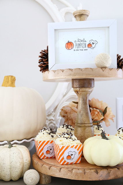Little pumpkin party (for Lawn Fawn)