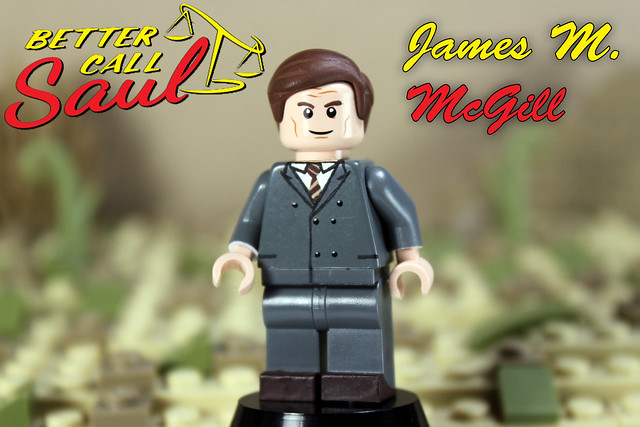 Custom LEGO Better Call Saul: James M. McGill