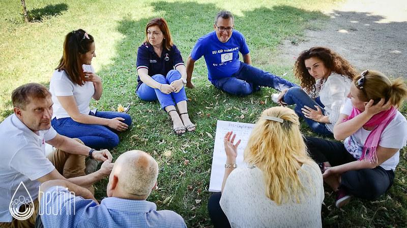 Training course in Kosovo