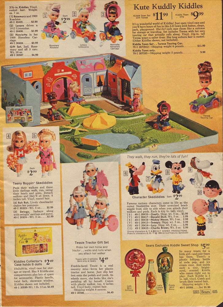 1969 Sears Christmas Catalog, Page 0605