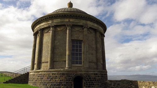 Downhill Demesne Temple in Ireland, UK