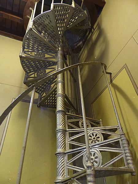 l'escalier de l'église