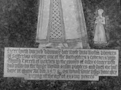 Thomazine Playters, 1578, and her daughter Susan (with Catholic prayer clause!)