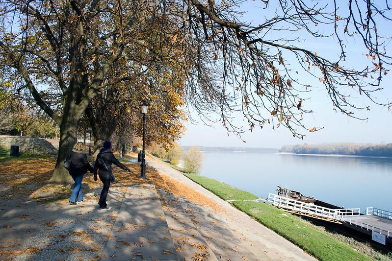 Paks, Hungary in Autumn